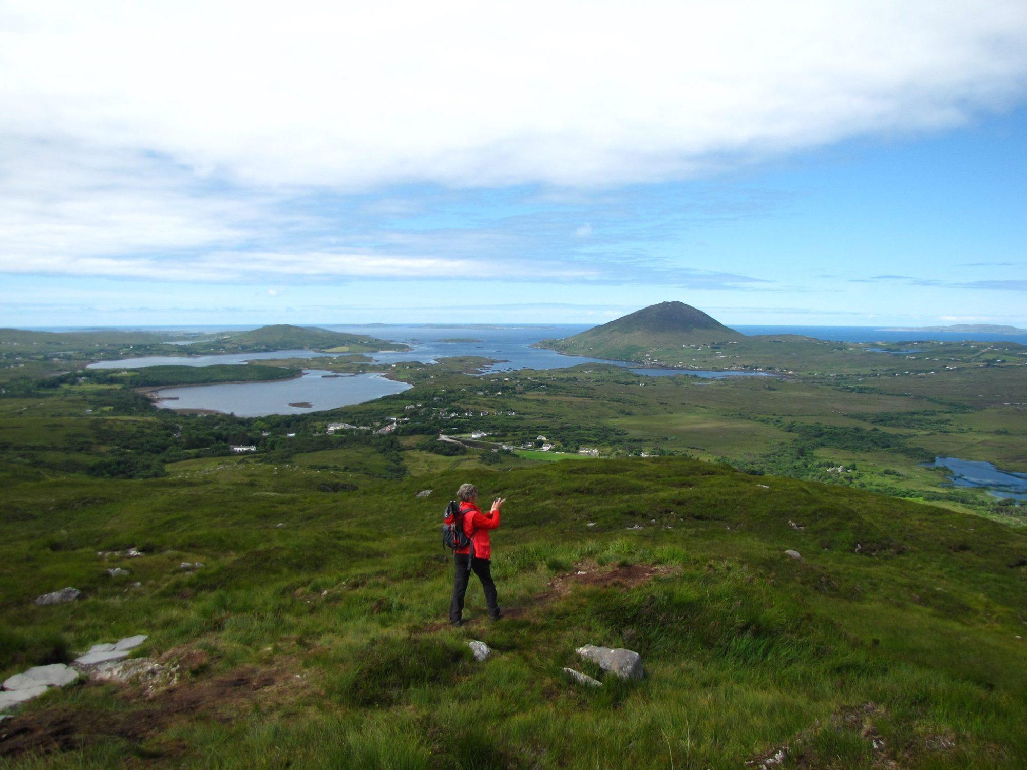 Top of the world - Ireland, Connemara